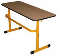 TEO R II školní lavice dvoumístná