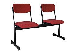 ISO MT 3 místná lavice, čalouněná