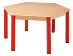 Šestihranný stůl průměr 120 cm